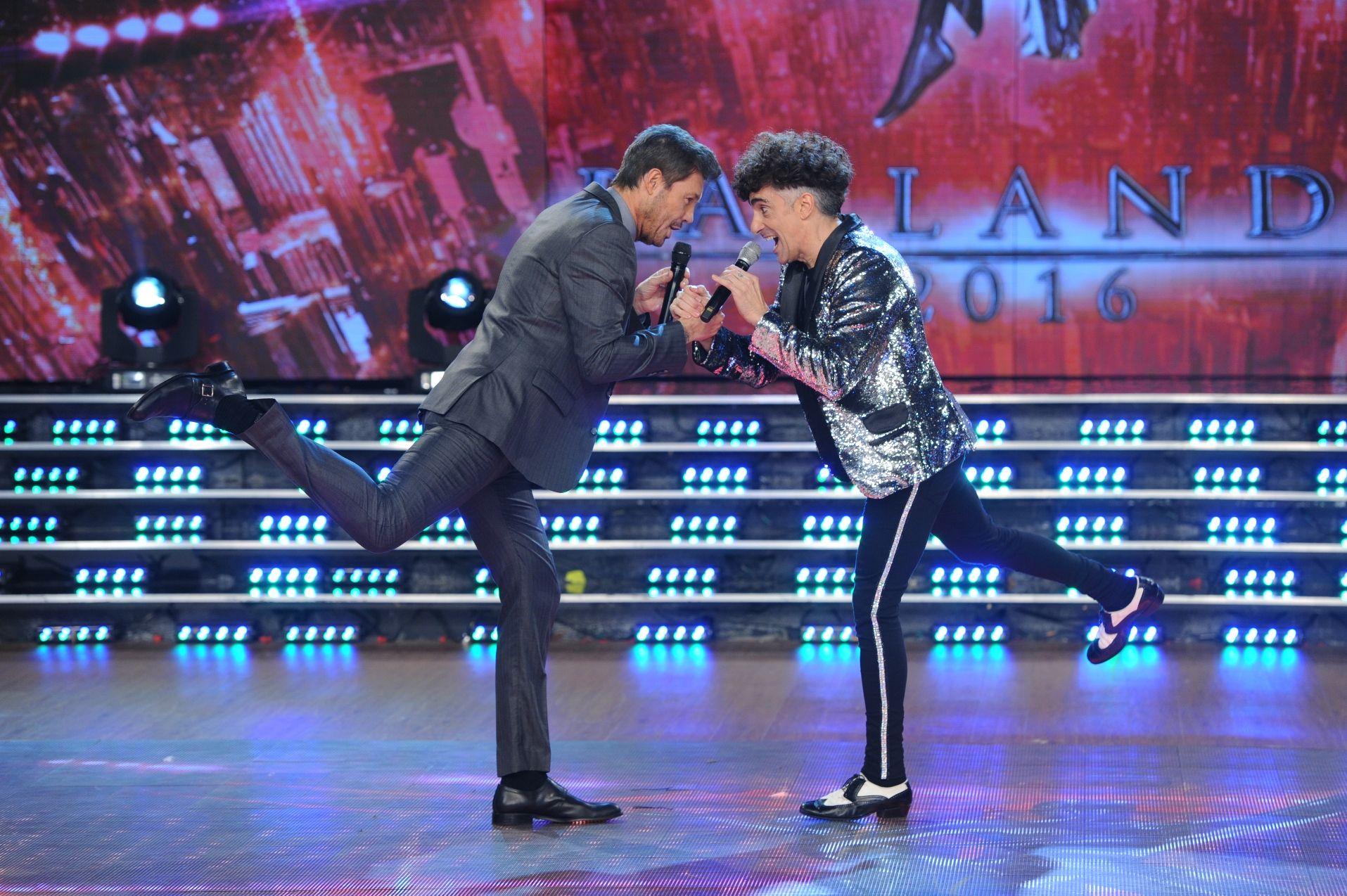 Favio Posca debutó en el Bailando con una desopilante previa junto a Marcelo Tinelli
