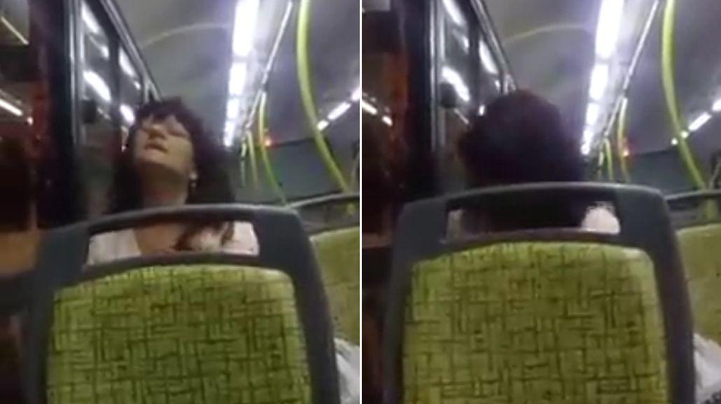 Poseída: exorcizaron a una mujer que viajaba en colectivo en San Luis