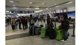 Se prevé una nueva jornada de caos en los aeropuertos de todo el país