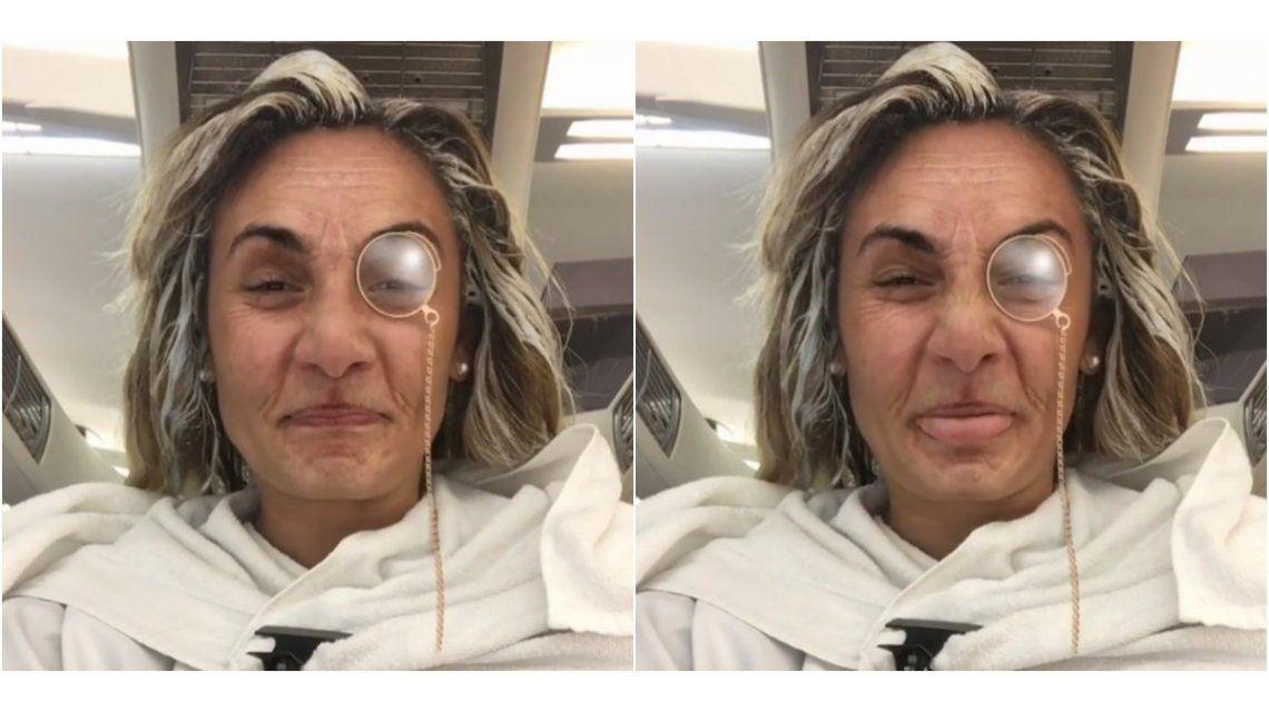 El desopilante video de Rocio Oliva, irreconocible en la peluquería