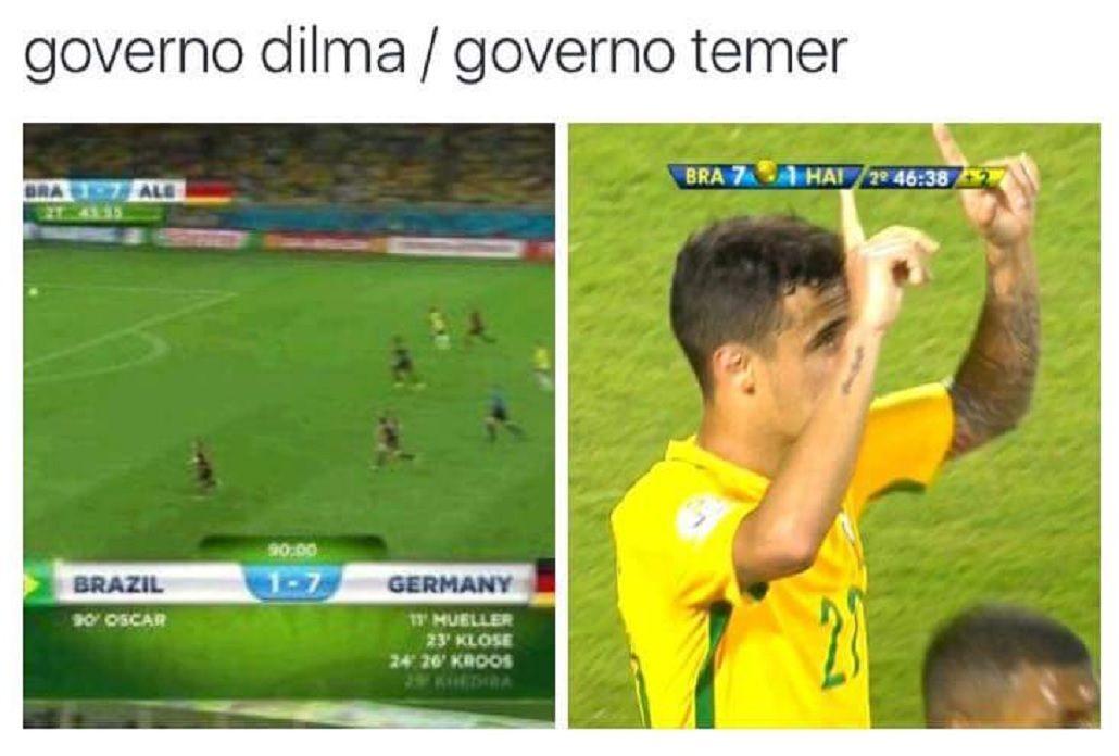 Ganó, pero los memes le recuerdan a Brasil la goleada de Alemania