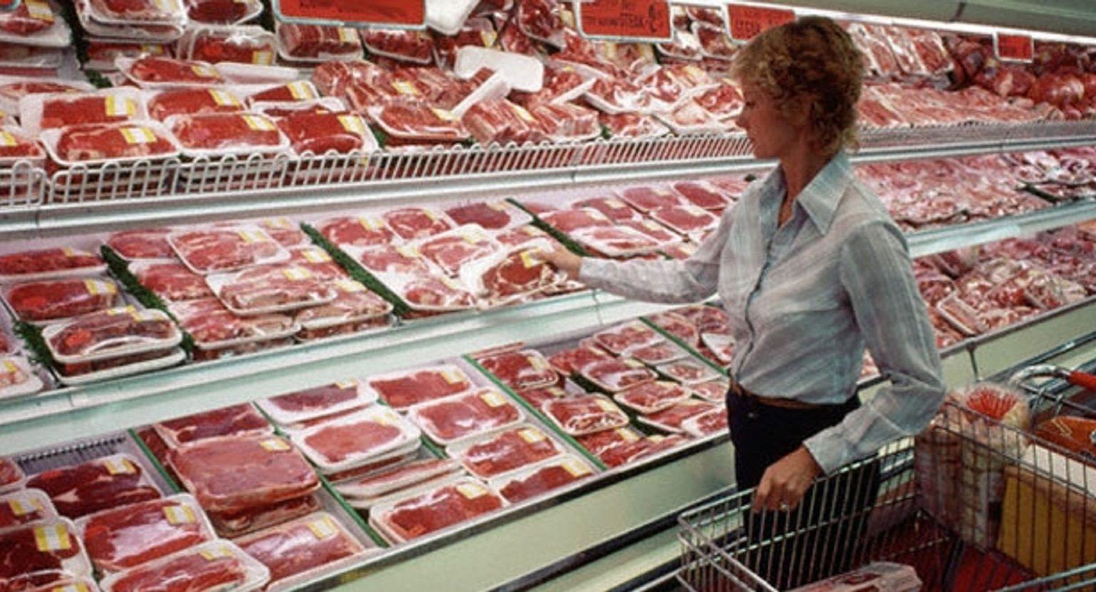 El consumo de carne cedió un 6,3% en lo que va del año
