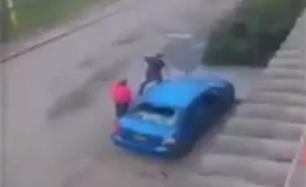 Día de furia: el vecino molestó a su mujer y reaccionó de la peor forma