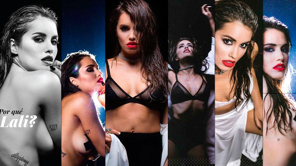 El destape de Lali Espósito: topless, sensualidad y desenfado