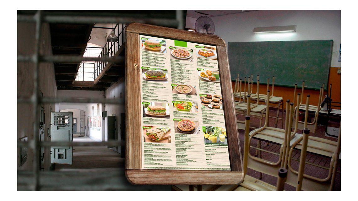 De la escuela a la cárcel: el proyecto para convertir en obligatorio el menú vegano