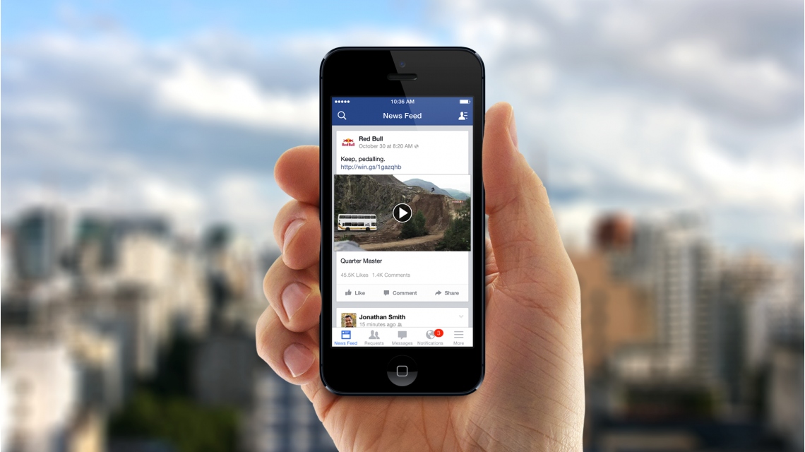 Facebook permite publicar videos en los comentarios