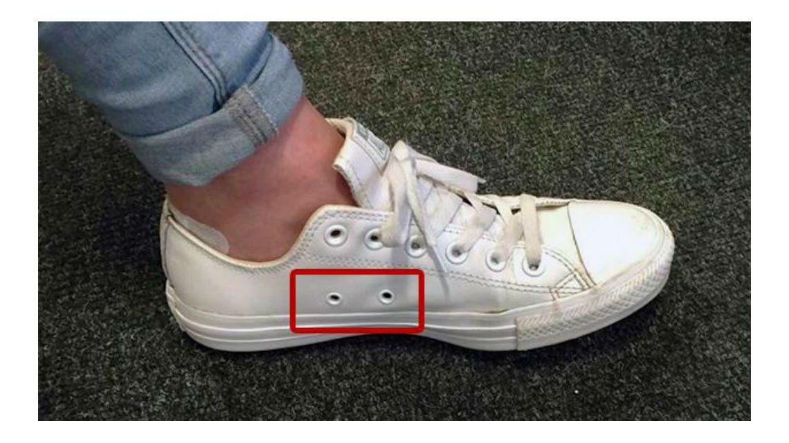 Fin del misterio: ¿por qué las zapatillas tienen agujeros laterales?