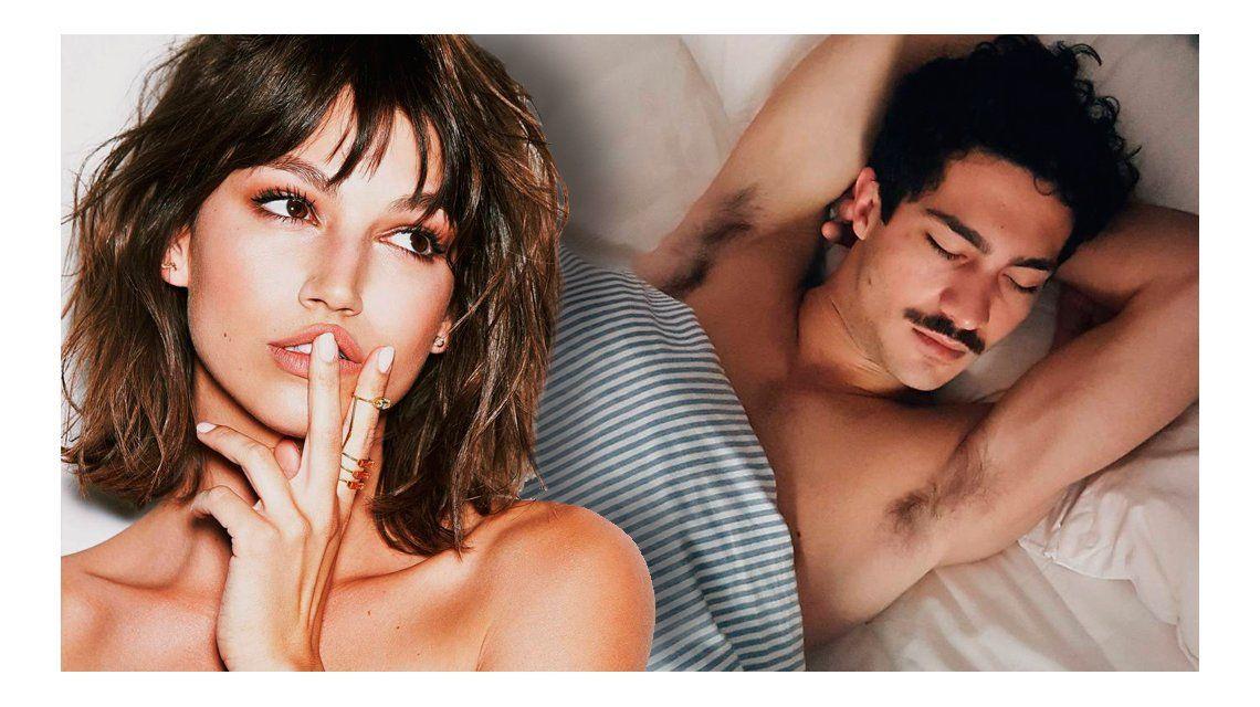 La foto hot que le sacó el Chino Darín a su novia