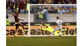 Venezuela ganó y eliminó a Uruguay de la Copa América