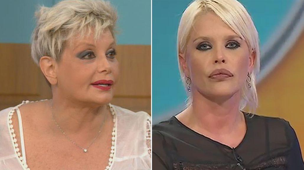 Escandalosa pelea entre Carmen Barbieri y Nazarena Vélez: Estás enferma, te tienen que internar