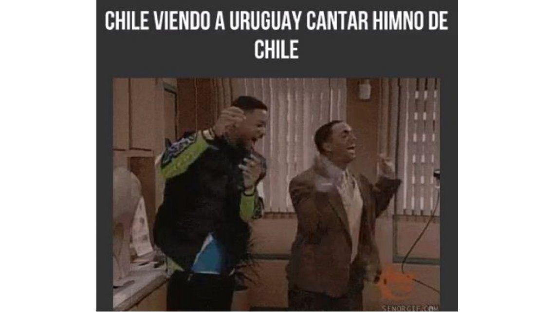 Tras el papelón, llegaron los memes del fallido himno de Uruguay