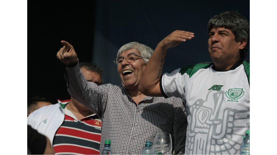 Pablo Moyano: Macri recibe a los Rolling Stones, pero no a los trabajadores