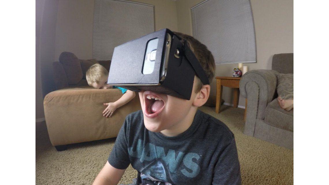 La realidad virtual para chicos, el juguete del futuro