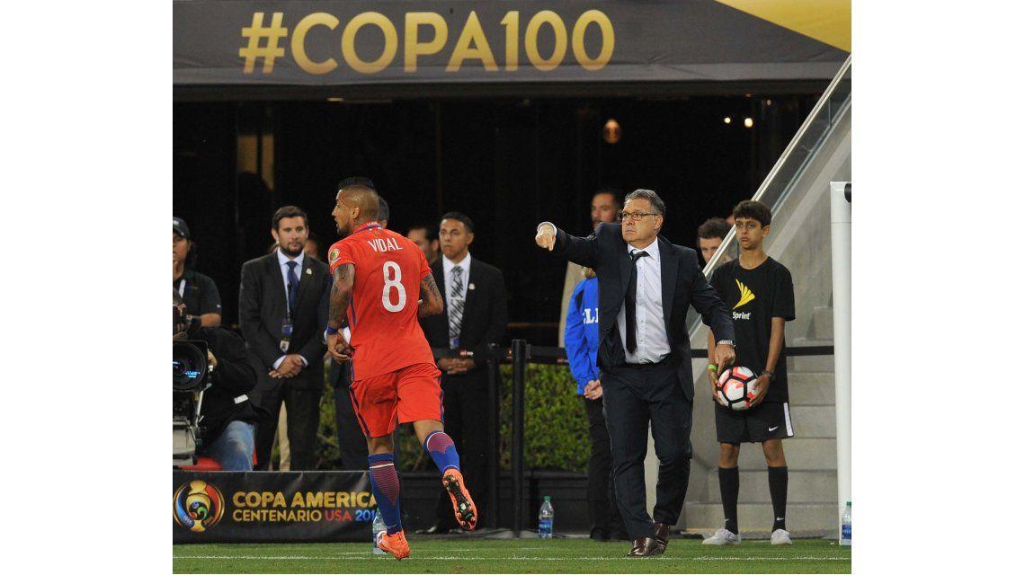 Martino, conforme con el triunfo: Nos llevamos una victoria justa e importante