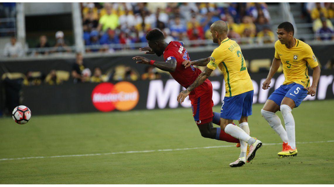 Copa América Centenario: las fotos de la goleada de Brasil a Haití