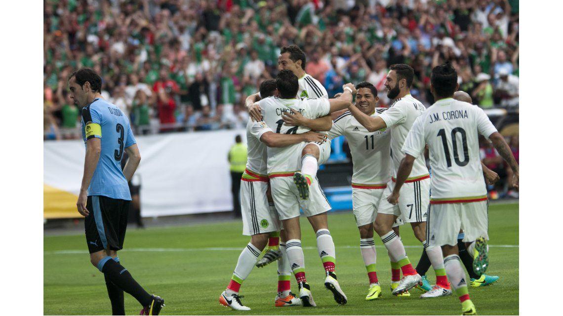 En un partidazo, México le ganó a Uruguay en el debut en la Copa América