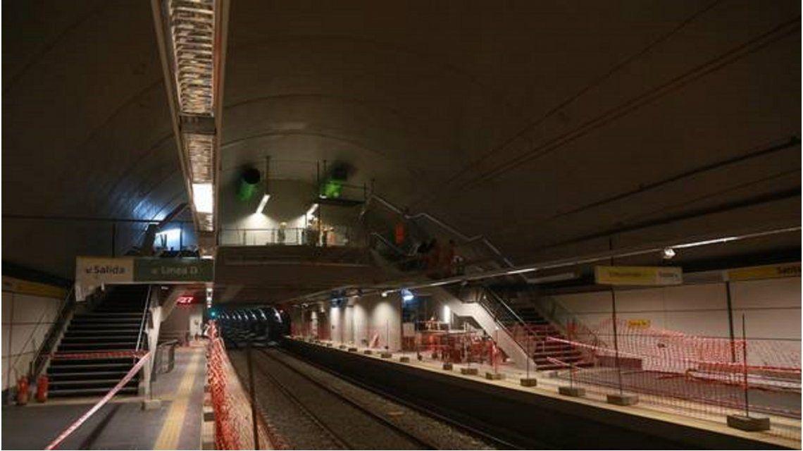 La estación Santa Fe abrirá a fin de mes, pero sin combinar con la línea D