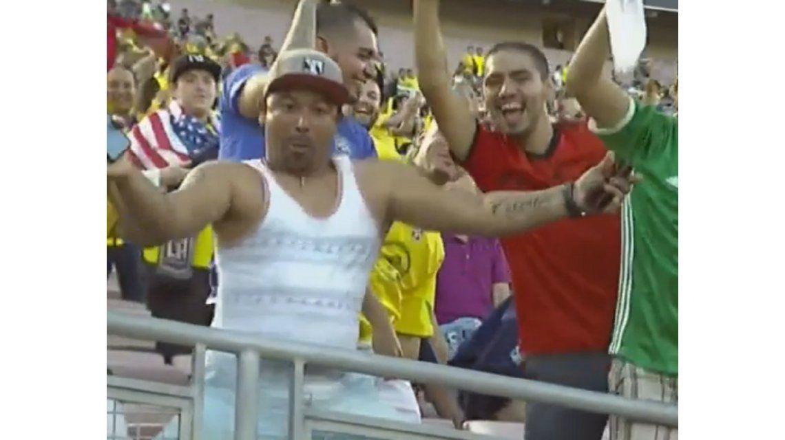 Color en las tribunas: el baile que ya es furor en la Copa América