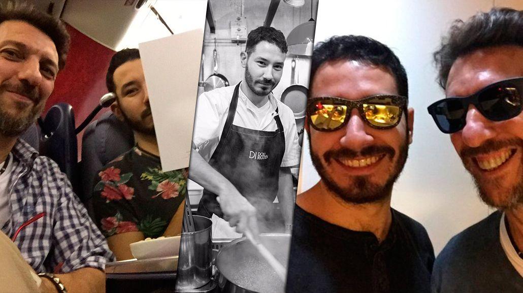 Humberto Tortonese se fue del país: viajó a Estados Unidos para probar suerte con su novio chef
