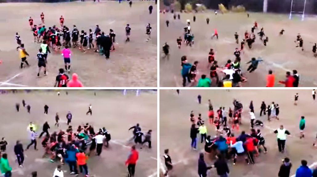 VIDEO: Sancionaron de por vida a un rugbier por una batalla campal