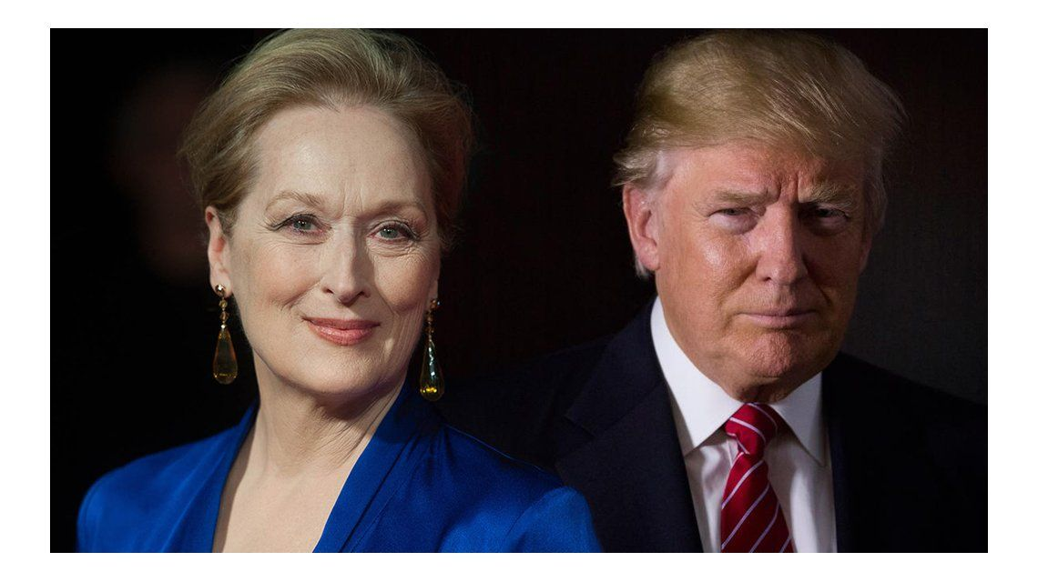 VIDEO: Meryl Streep sorprendió con una parodia impecable de Donald Trump