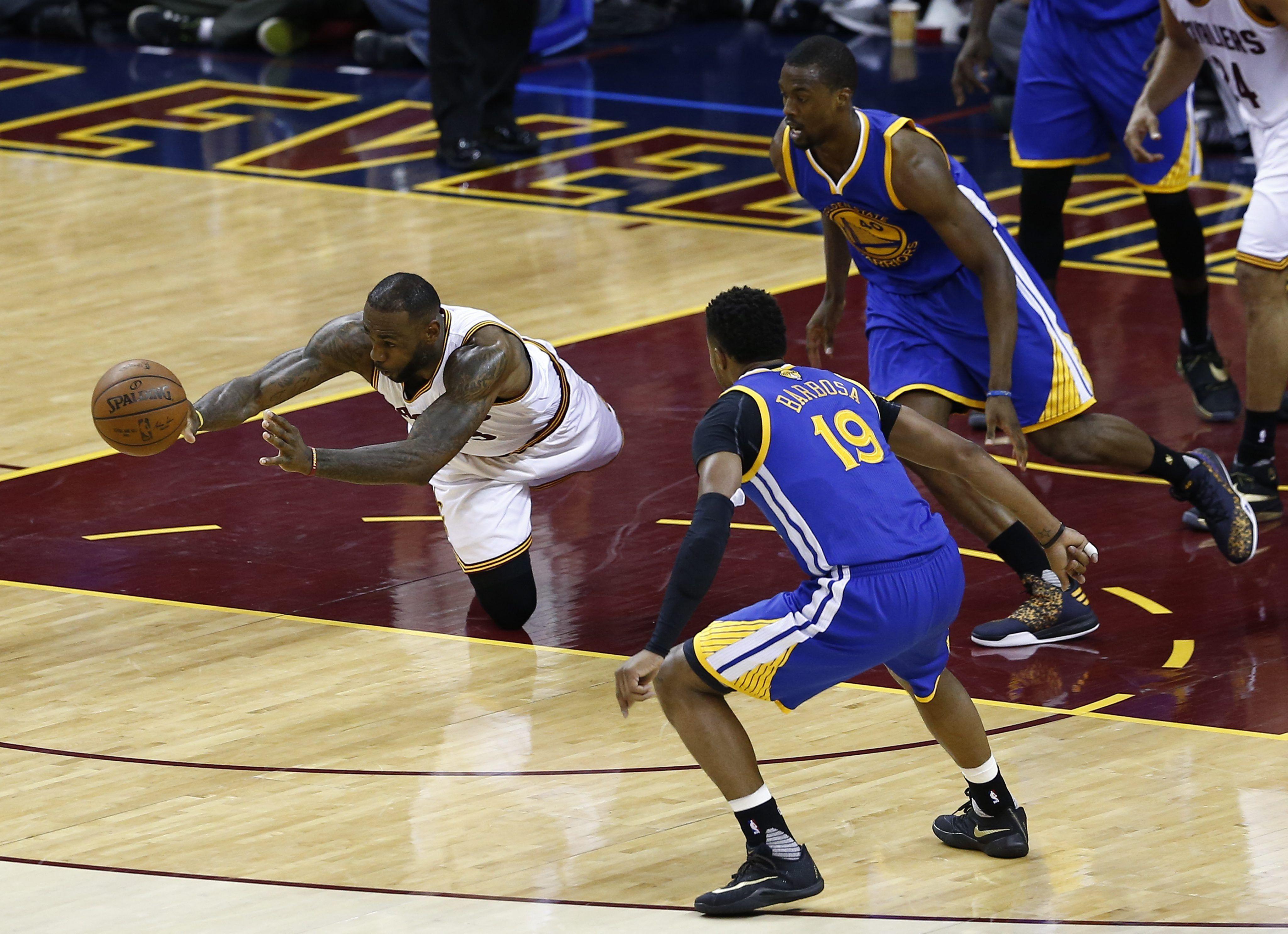 Finales de la NBA: aplastante victoria de los Cavalliers de LeBron