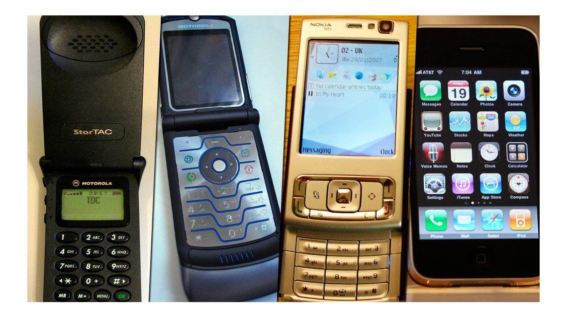 Los 10 teléfonos más emblemáticos de la historia de la tecnología