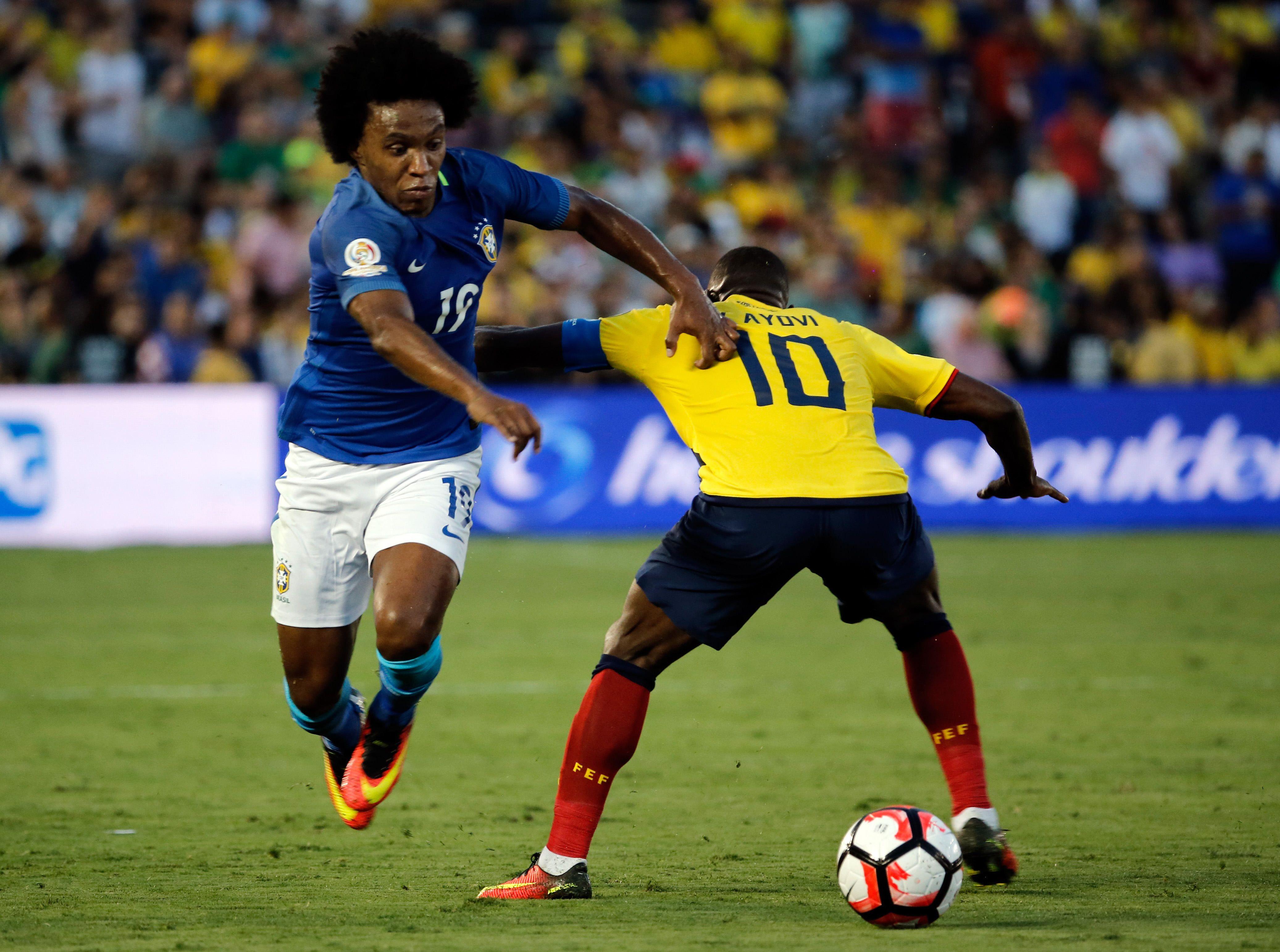 Brasil y Ecuador no pasaron del empate en el debut de la Copa América