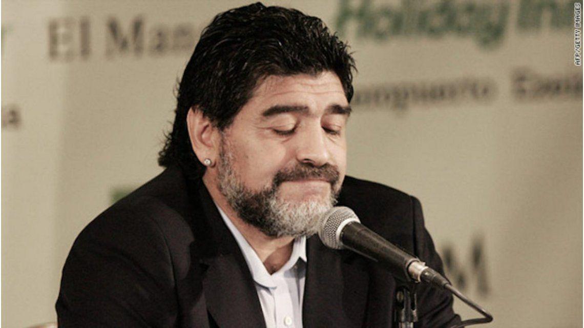 Estalló Maradona en un grupo de Whatsapp: Nosotros no jugamos con Chile, le ganamos a Alemania
