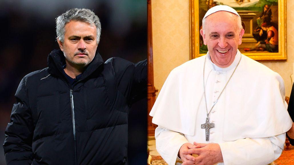 José Mourinho será el papa Francisco