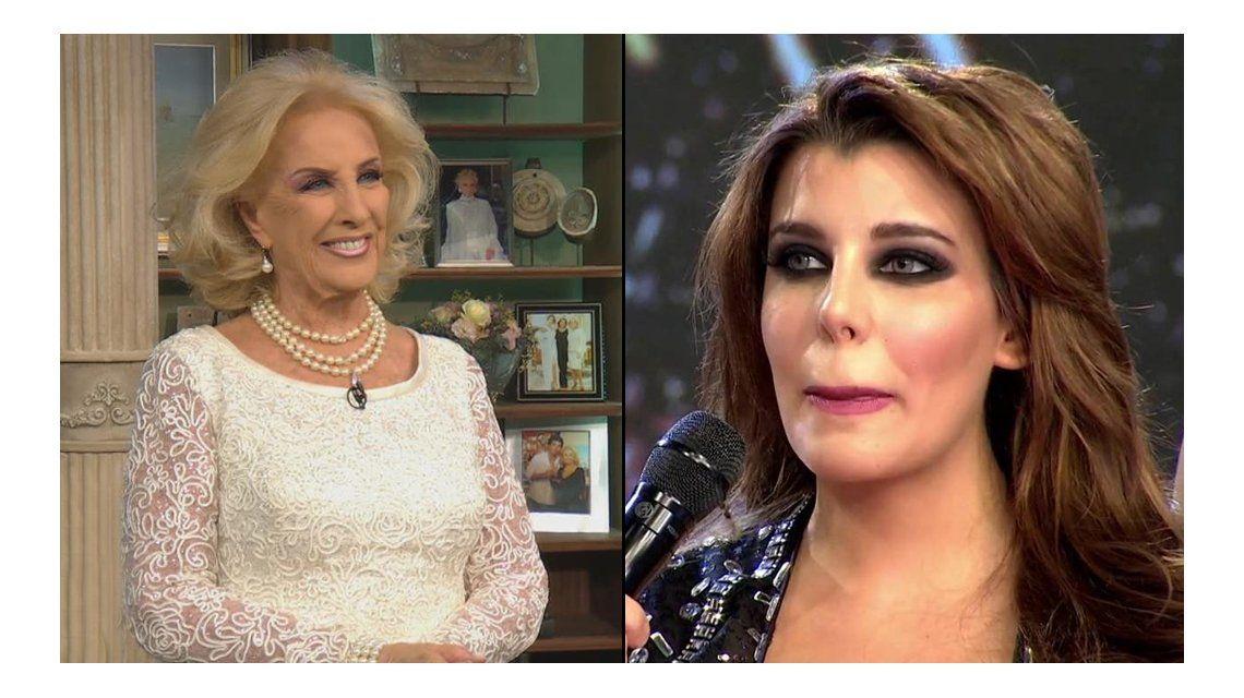 Las preguntas incómodas de Mirtha Legrand a Charlotte Caniggia