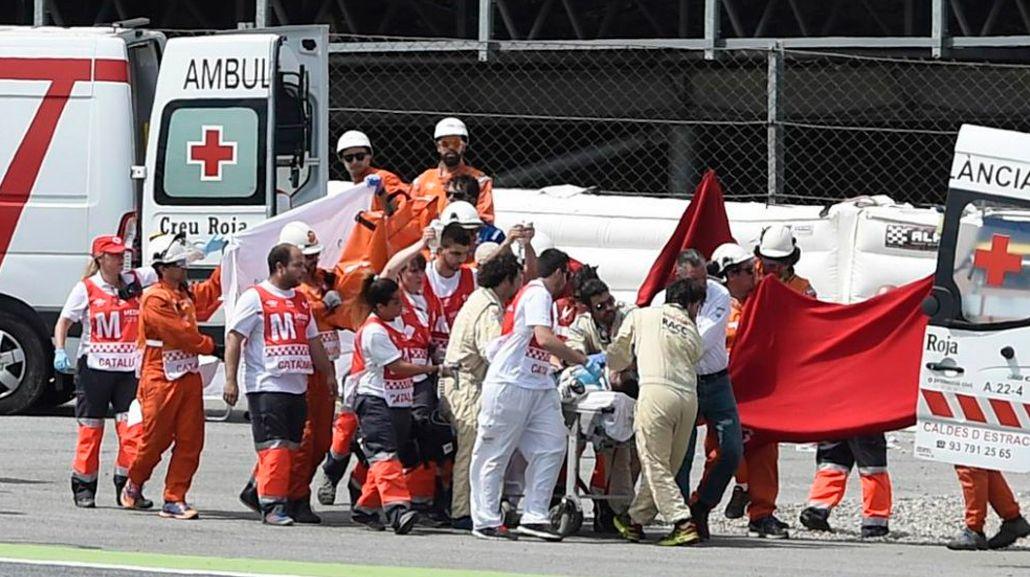 Murió Luis Salom, piloto de Moto2, en plena competencia