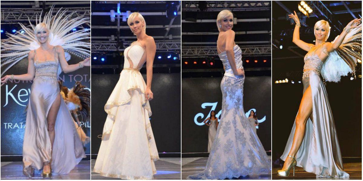 Ingrid Grudke, diosa en el Moda Coiffeur 2016