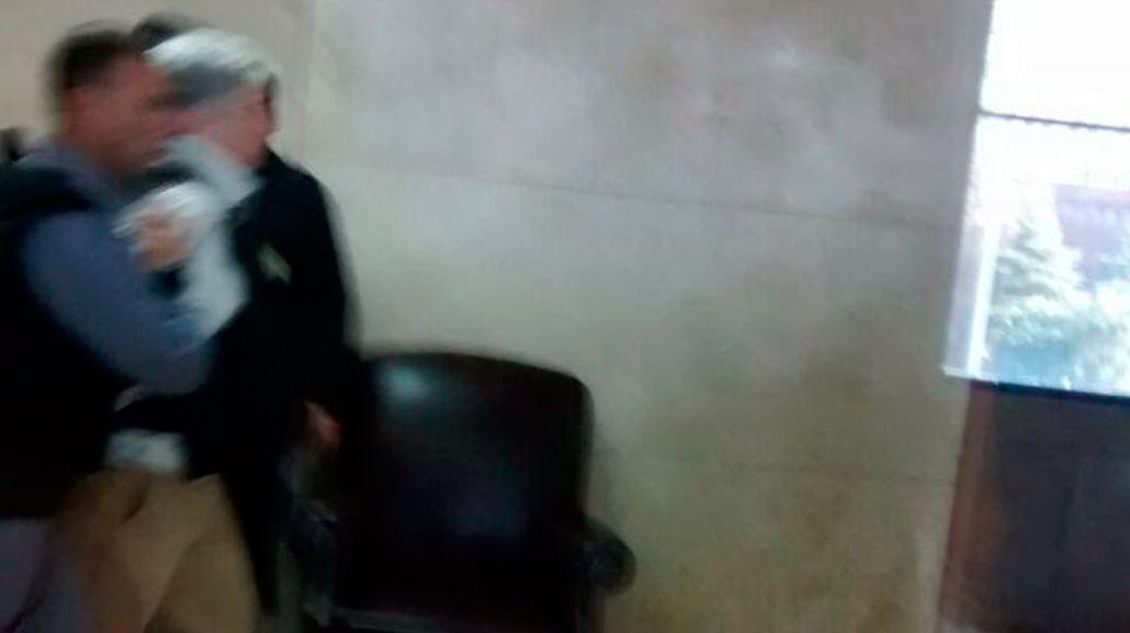 Terminó la audiencia privada de Báez: No entiendo por qué estoy detenido