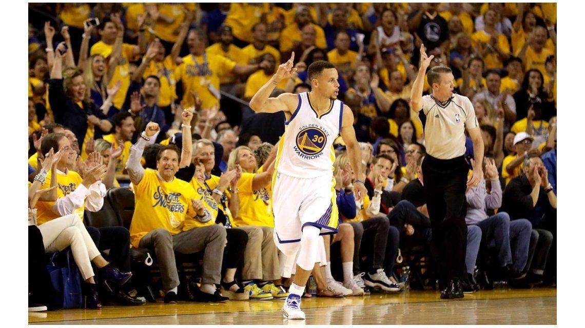 Golden State se hizo fuerte y ganó la primera final de la NBA