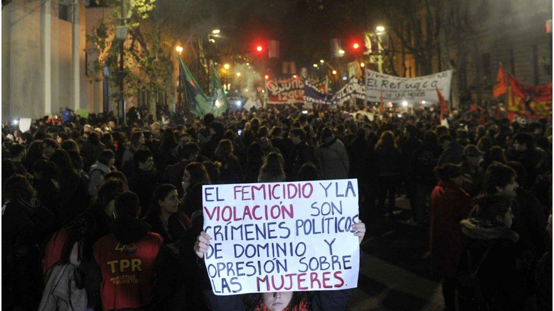#NiUnaMenos: Una multitud se volcó a las calles para marchar en contra la violencia de género