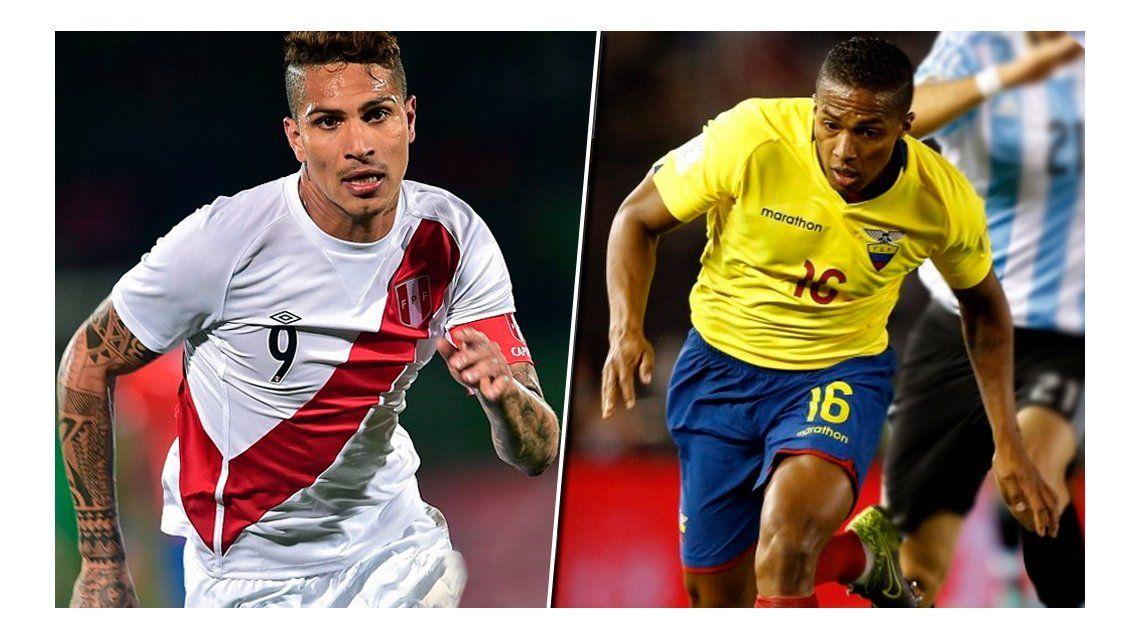 Perú y Ecuador empataron en duelo de DTs argentinos