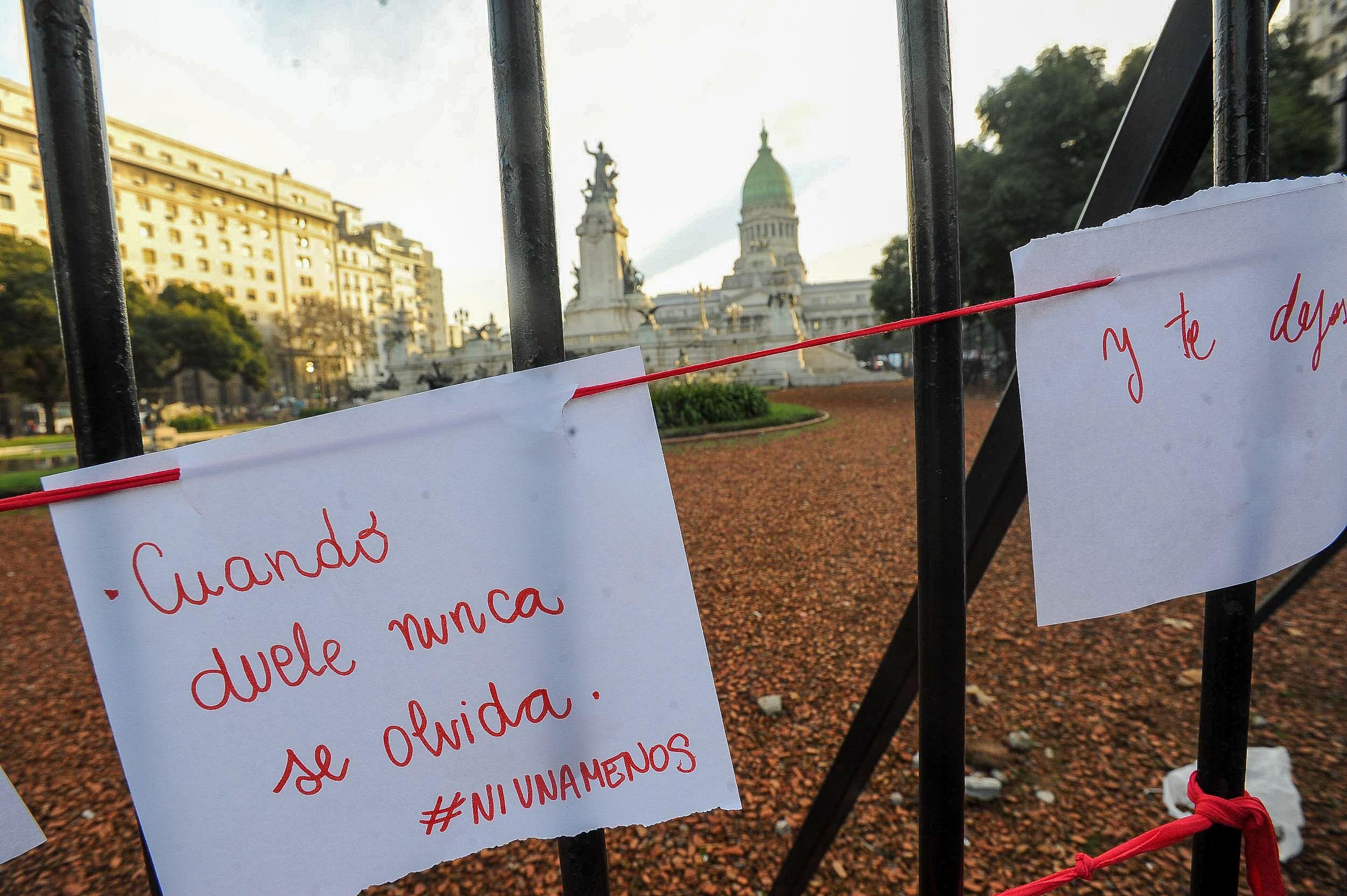 La segunda marcha #NiUnaMenos, en imágenes