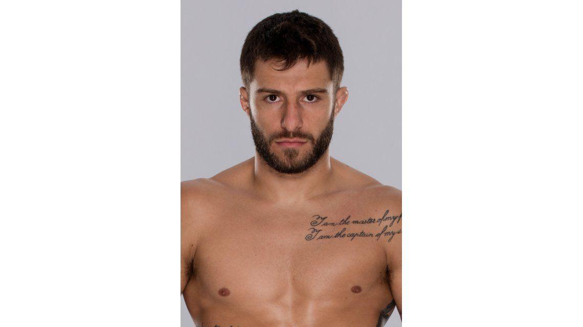 Un personaje en el reality de la UFC: asados para engordar a sus rivales