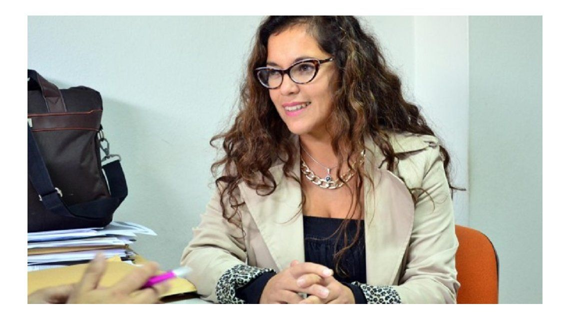 La abogada Natalia Moreno. Foto: diario de Río Negro.