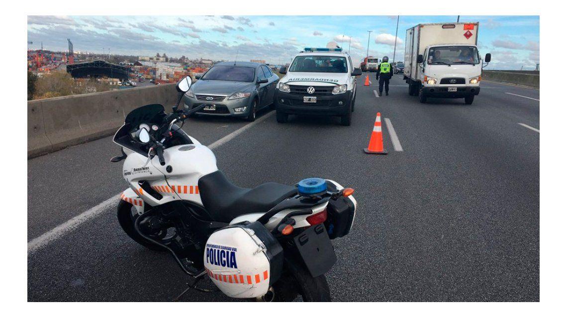 Tremendo golpe en la autopista: se llevaron 11 millones de pesos