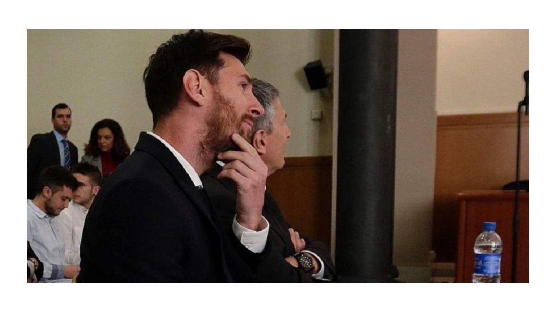 Messi ante el Tribunal: Yo no tenía idea de nada, sólo jugaba al fútbol