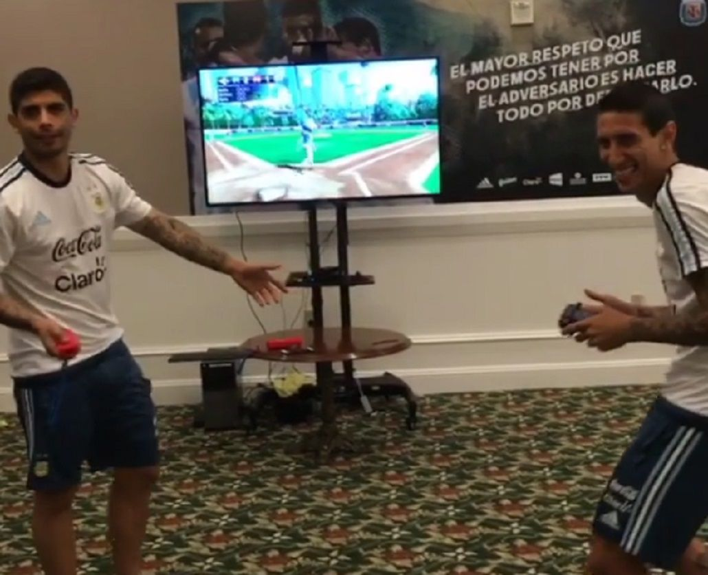 VIDEO: Así se relaja la Selección argentina antes del debut en la Copa América