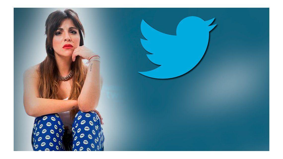 Escandaloso tuit de Gianinna Maradona: Respiro antes de mandarte al frente y a c..