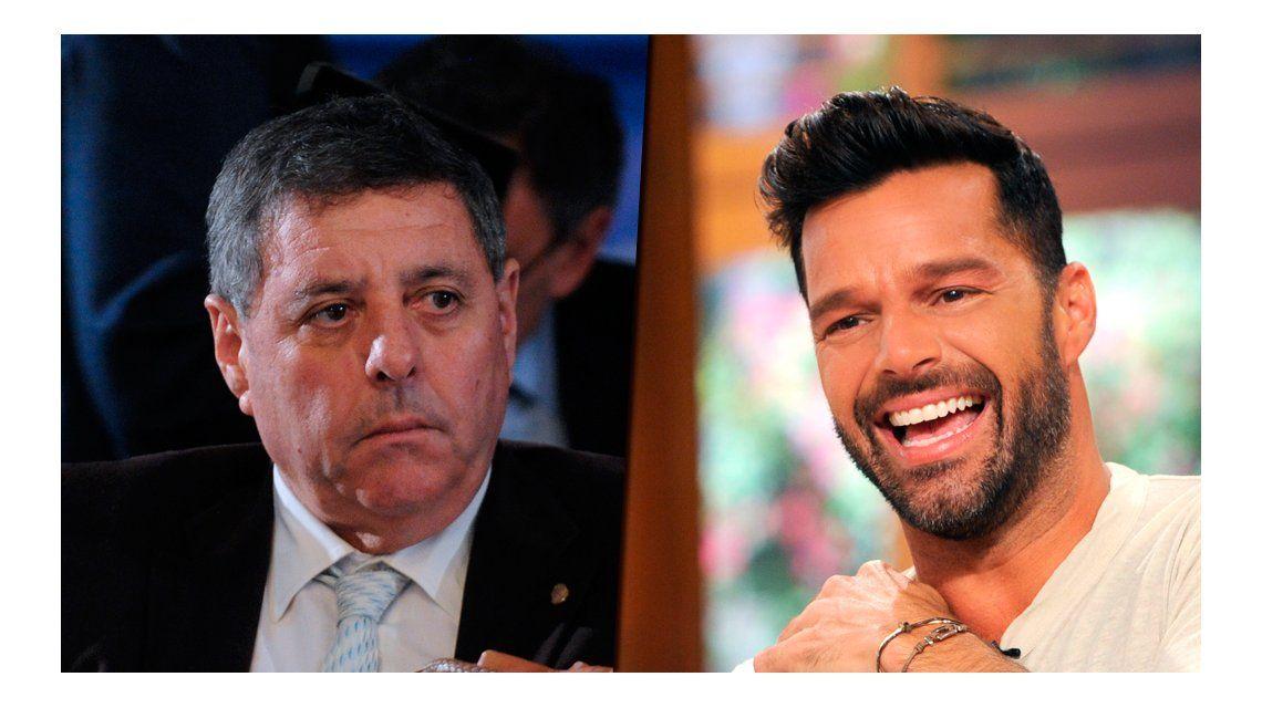 VIDEO: De Angeli confundió a un secretario de Agricultura con Ricky Martin