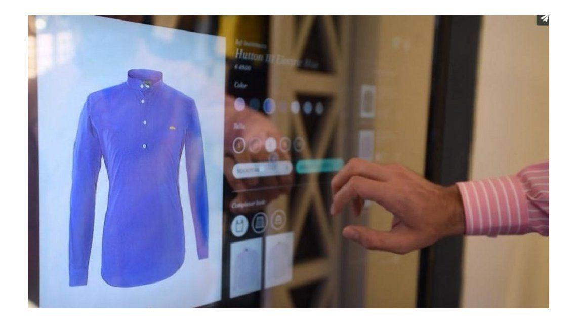 Crean un probador inteligente para facilitar compras