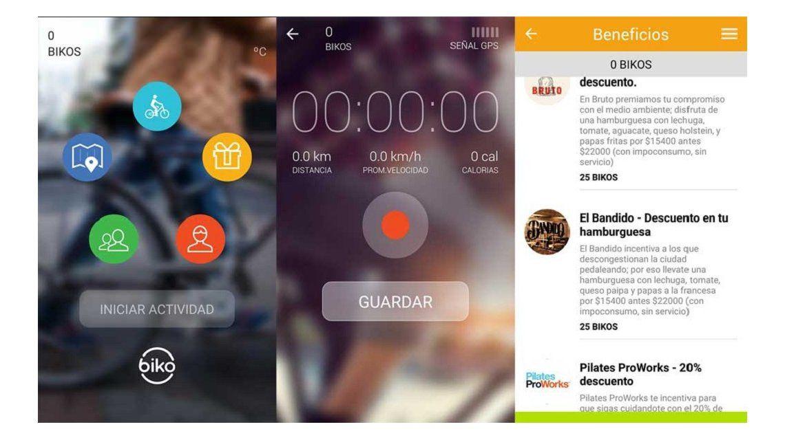 Biko, una app que promueve el uso de la bicicleta
