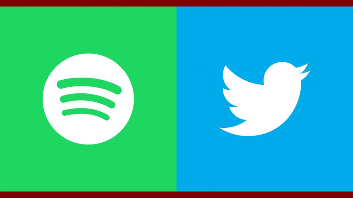 Twitter permitirá unir al timeline Spotify