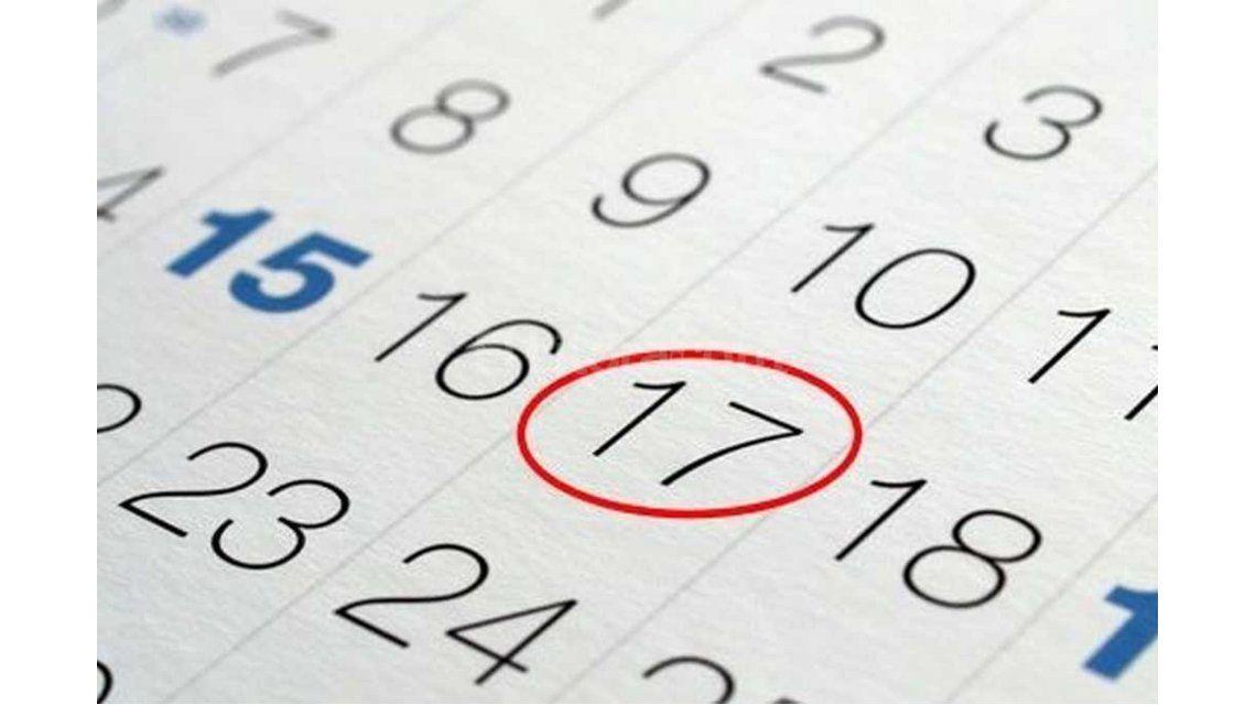 Oficial: el próximo 17 de junio será feriado y habrá fin de semana largo