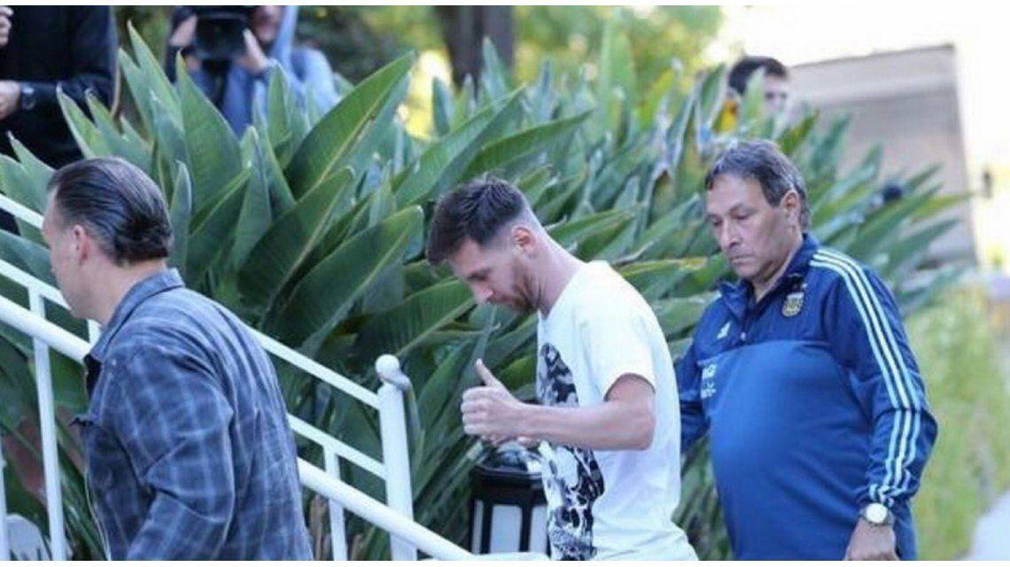 Lionel Messi ya está en Estados Unidos y puede pensar en la Copa América